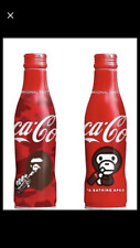 INSTOCK Japan Coca Cola A BATHING BAPE APE Milo Slim Empty Bottle Can Set of 2