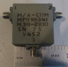 M/A-Com M3B-2100 3 Port Narrow Band Coaxial Circulator