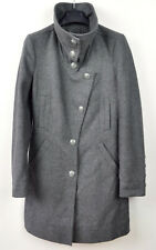 DRYKORN FOR BEAUTIFUL PEOPLE Women's Wool Blend Coat UK 6 Grey Jacket Small Top
