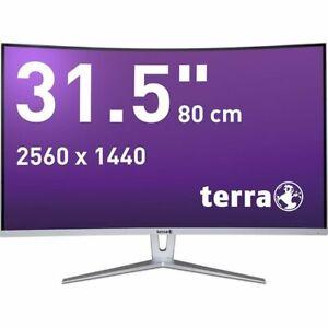 TERRA LED 3280W CURVED, 31,5 Zoll, 2560 x 1440 (WQHD) Monitor
