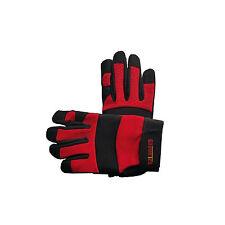 Work Gloves Mechanic Gloves DIY Gardening Garage Work Synthetic Leather Palm New