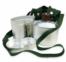 Original Chinese PLA Type 78 Military Army Mess Kit Canteen Kettle Lid Set