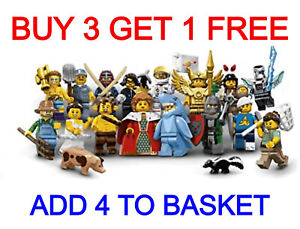 LEGO 71011 SERIES 15 MINIFIGURES (PICK YOUR MINIFIGURE) BUY 3 GET 1 FREE!!