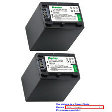 Kastar Replacement Battery for Sony NP-FH100 Sony HDR-XR200 HDR-XR500 HDR-XR520