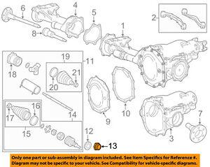 GM OEM-Axle Nut 10257766