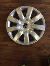 "4- 15"" Vw Jetta Golf Wheel Covers 2010 2011 2012 2013 Hubcaps Aftermarket"