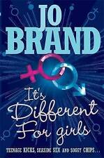 It's Different for Girls by Jo Brand   Paperback Book   9780755322305   NEW