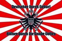 Alemán Y Colonia Letrero de Metal Arqueado Metal Tin Sign 20 X 30CM