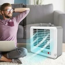 Portable Cool Air Conditioner Fan Mini Air Cooler Humidifier USB Charging