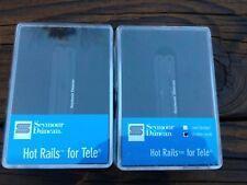 Seymour Duncan STHR-1 Hot Rails Tele Pickup Set Telecaster Neck & Bridge Black
