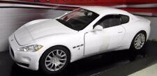 Motorma 1/24 Scale 73361W Maserati Gran Turismo white Diecast model car