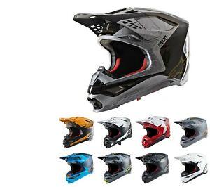 Alpinestars 2021 Supertech SM-10 Motocross/Supercross MX Gelände Carbon Helm