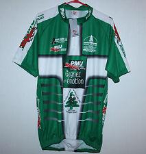 Bergamo BNWT Cycling jersey shirt PMU Romand Made in Italy