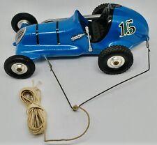 Vintage Ray Cox Thimble Drome Champion Tether Car - #15 Blue - All Original