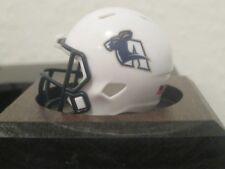 NCAA Akron Zips Custom Helmet Speed Pocket Pro  MAC Logo White