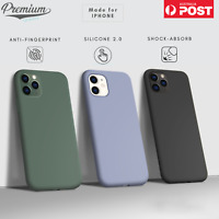 For iPhone 12 Mini 11 Pro XS MAX X XR 7 8 SE Shockproof Silicone Back Case Cover