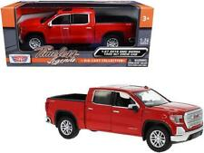 2019 GMC Sierra 1500 SLT Crew Cab Pickup Truck Red 1/24-1/27 Diecast Model Car b