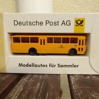 Brekina Post Serie 4, 1:87 H0 1 x MB Postbus O 317 K Deutsche Bundespost,OVP
