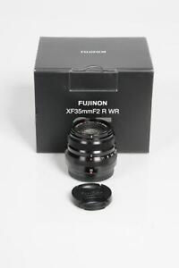 Fuji Fujifilm XF 35mm f2 R WR Fujinon Lens 35/2 #321