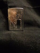 Vintage Zippo Engraved Ornate Bradford PA Lighter