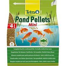 Tetra Pond Pellets Mini Complete Fish Food For Pond Fish, 4 L/1050 G