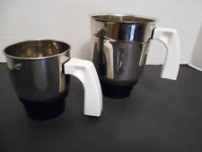 Preethi Mixer Jars for Eco Twin, Eco Plus/Chef Pro and Blue Leaf, NEW no lids