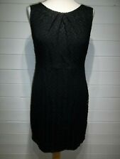 A/Wear Dress ~ Size 14 ~ Black Lacey ~ Sleeveless ~ Evening Party ~ 2430