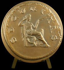 Médaille à l'antique d'ap monnaie romaine 315g  mutualité agricole 1975 medal