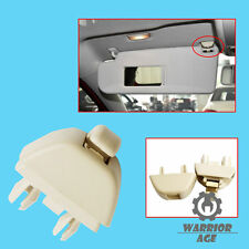 Qty1 Beige Sun Visor Hanger Clip Holder For VW Passat B7 Polo UP! Skoda Seat