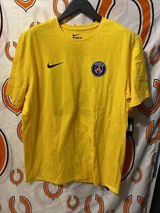 Surichinmoi equivocado Fábula  Las mejores ofertas en Nike Paris Saint-Germain Club Internacional amarillo  ropa de aficionados y recuerdos de Fútbol | eBay