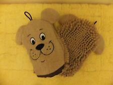 EMROIDERED MICROFIBRE NOODLE DOG WASH MITT DAC 14