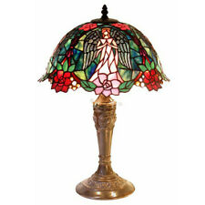 "Warehouse of Tiffany  Angel Table Lamp 21.5"" High By 14"" Wide 2856+BB656"