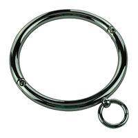 Halsring Halsreifen Halscorsage Halskorsett Ring der O 12cm Stahl Edelstahl neu