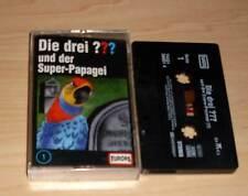 Die Drei ??? Fragezeichen Hörspielkassette Folge 1 und der Super-Papagei