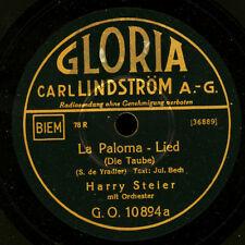 HARRY STEIER  La Paloma / HANS HEINZ BOLLMANN  Meine Sonne       78rpm     S6622