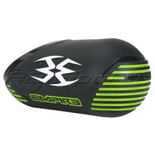 Empire by Exalt Tank Cover Black Lime White Carbon Fiber Paintball 68 72 New