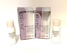 Shiseido White Lucent Brightening Protective  Moisturizer Set 2 x 7 ml NIB !