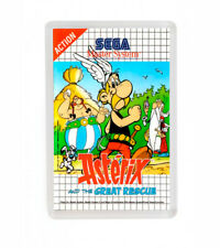 ASTERIX AND THE GREAT RESCUE SEGA MASTER SYSTEM FRIDGE MAGNET IMAN NEVERA