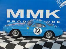 MMK RESIN FERRARI 250GT BLUE #12 EXPERIMENTAL MODEL 1:32 SLOT BNIB