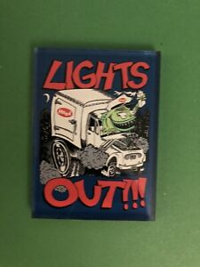 Phish Jim Pollock Lights Out Official Magnet Lucite Magnet