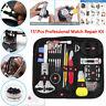 151Pcs/Set Professional Watch Repair Kit Screw Spring Bar Tool Kit Adjust Watch