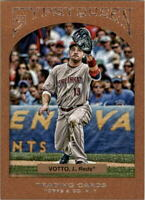 2011 Topps Gypsy Queen Framed Paper #13 Joey Votto /999 - NM-MT
