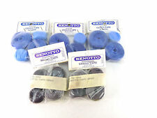 Benotto Handlebar Tape Blue + Grey Vintage Road Bike Track NOS x 5 packs