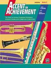 Alfred Publishing Co. 0018055 Accent on Achievement, Book 3, Bassoon