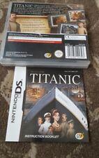 Les secrets du Titanic 1912 -2012 Nintendo DS