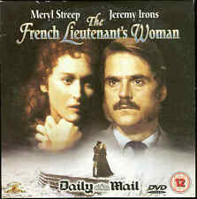 THE FRENCH LIEUTENANT'S WOMAN -  Jeremy Irons, Meryl Streep  ***DVD***