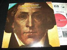 CHOPIN WORLD'S FAVORITE°<>ARTUR RUBINSTEIN <> LP Vinyl~US Pressing<>RCA LSC 3322