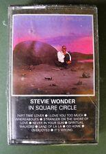 STEVIE WONDER IN SQUARE CIRCLE CASSETTE TAPE TAMLA MOTOWN 1985 NEW