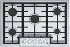 Bosch Ngm8056Dd 30 Stainless Steel 5-Burner Gas Cooktop New Free Ship