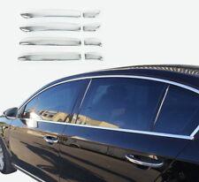 Volkswagen Passat 3C B7 2012-2014 Chrome Door Handle Cover 4Door S.Steel